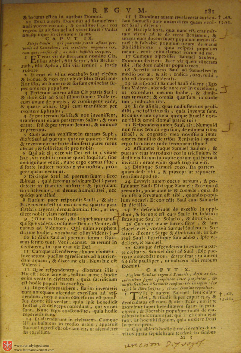 Catholic Latin Vulgate Bible page 0196