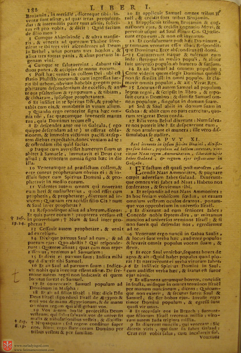 Catholic Latin Vulgate Bible page 0197