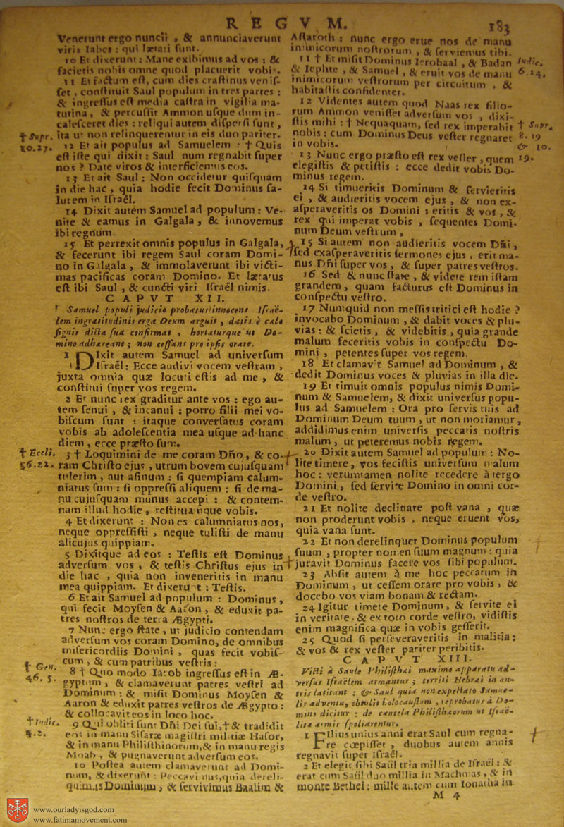 Catholic Latin Vulgate Bible page 0198