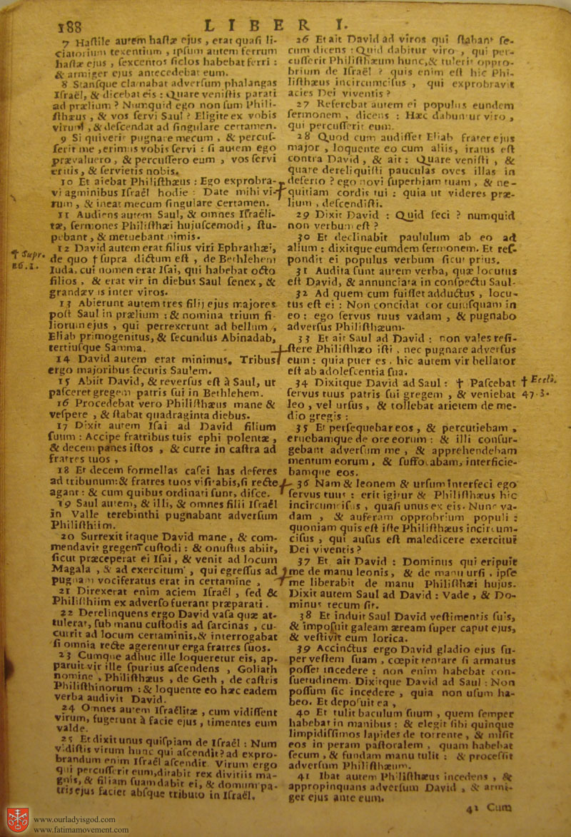 Catholic Latin Vulgate Bible page 0203