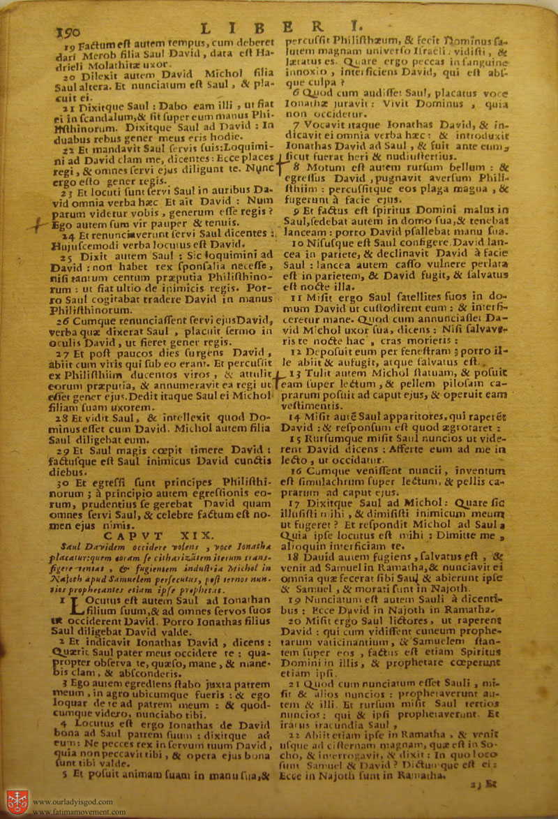 Catholic Latin Vulgate Bible page 0205