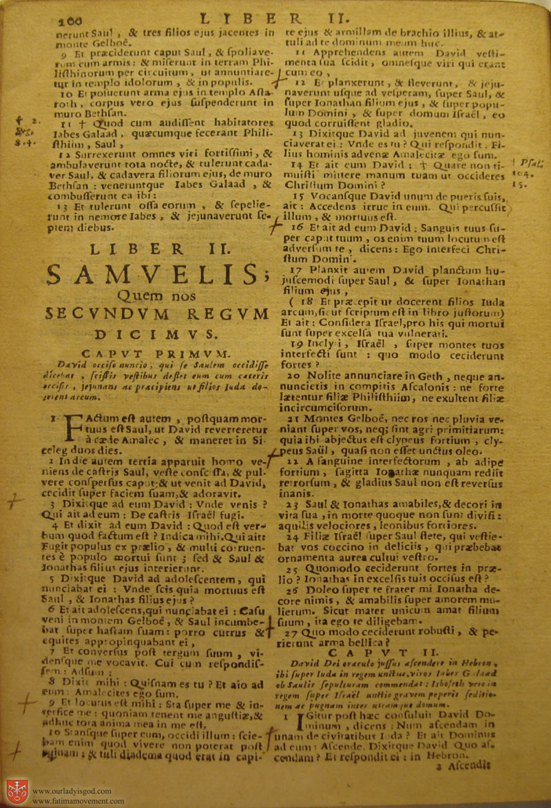 Catholic Latin Vulgate Bible page 0215