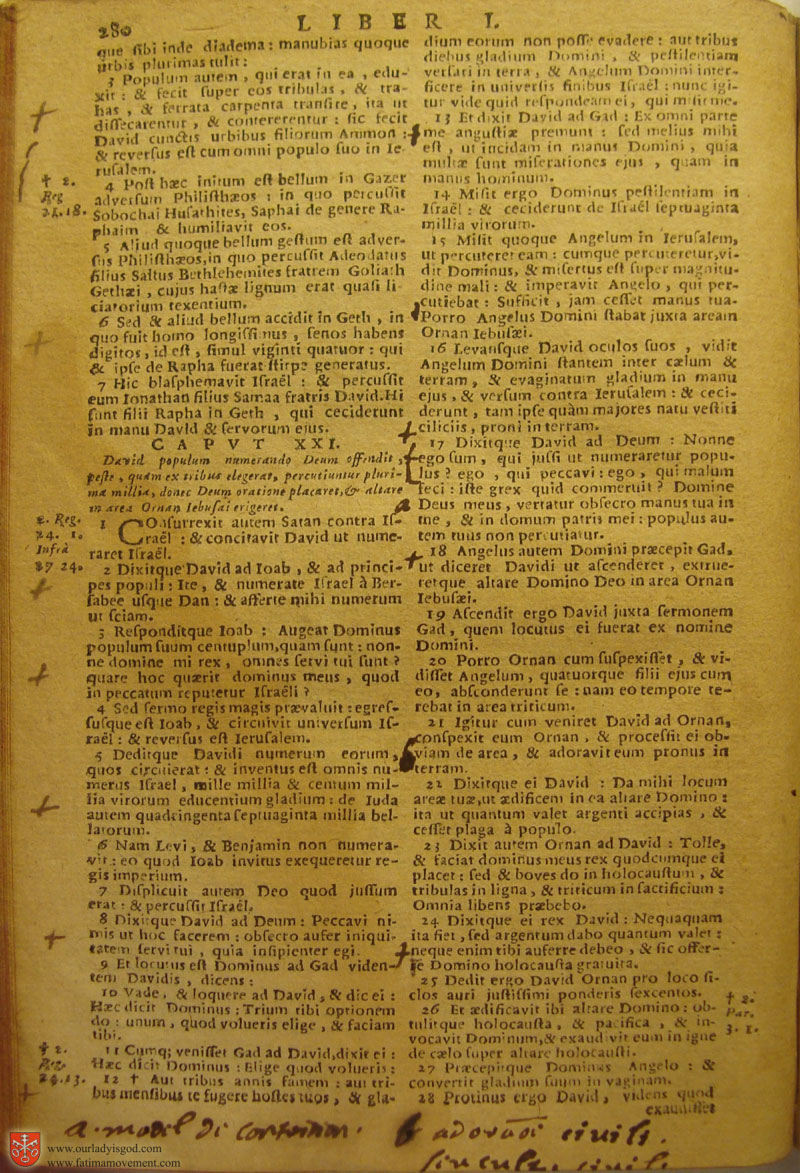 Catholic Latin Vulgate Bible page 0295