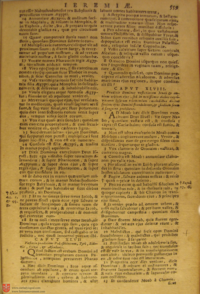 Catholic Latin Vulgate Bible page 0574