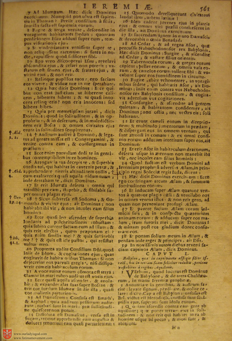 Catholic Latin Vulgate Bible page 0576