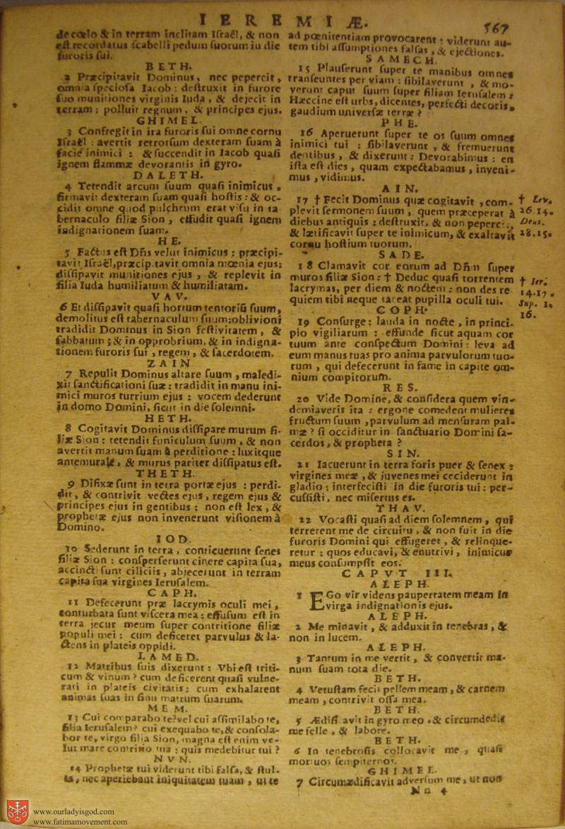 Catholic Latin Vulgate Bible page 0582