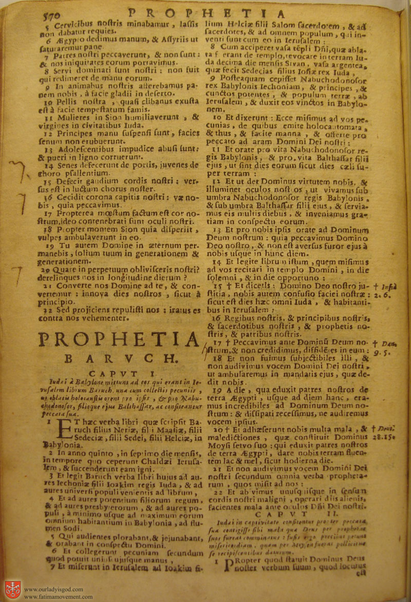 Catholic Latin Vulgate Bible page 0585