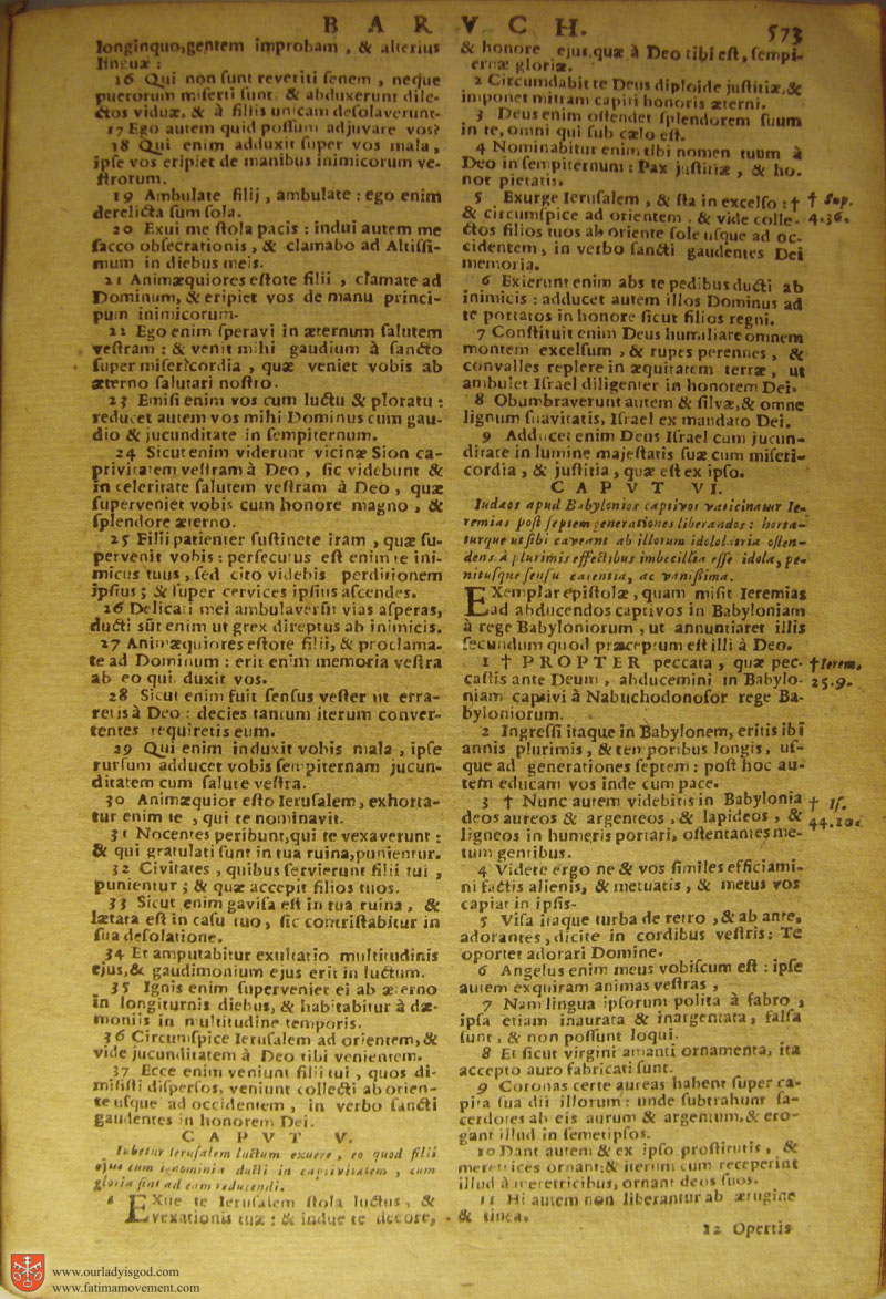 Catholic Latin Vulgate Bible page 0588