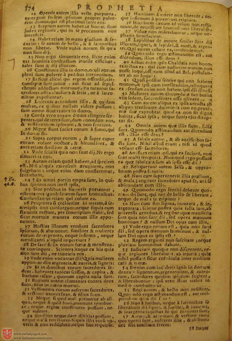 Catholic Latin Vulgate Bible page 0589