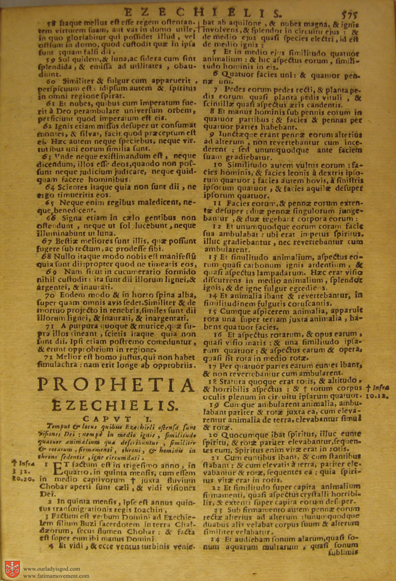 Catholic Latin Vulgate Bible page 0590