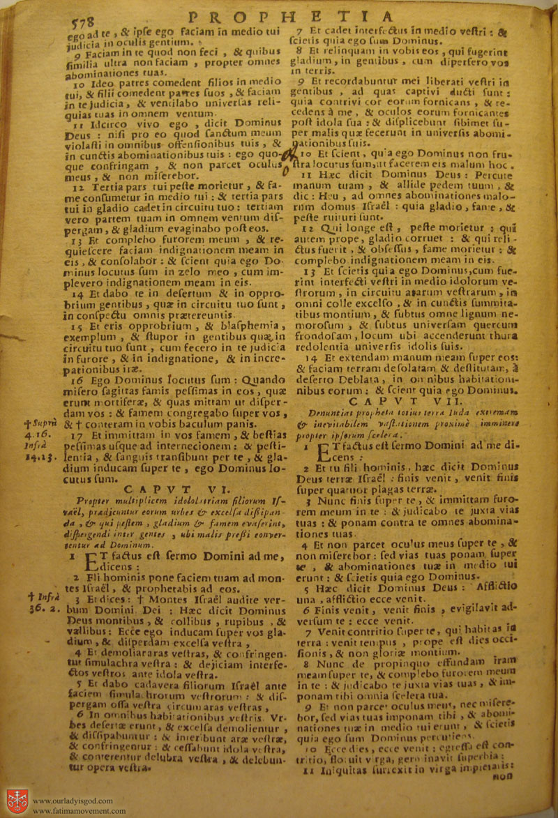Catholic Latin Vulgate Bible page 0593