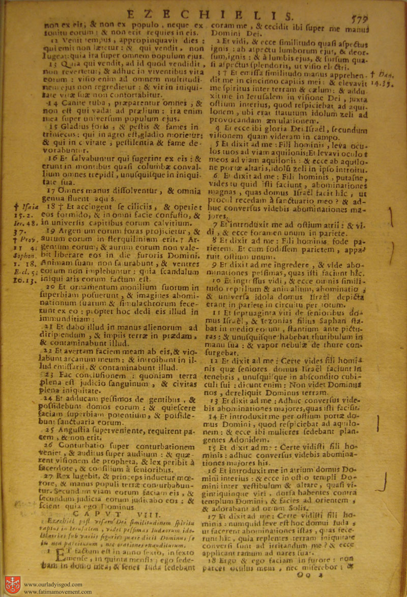 Catholic Latin Vulgate Bible page 0594