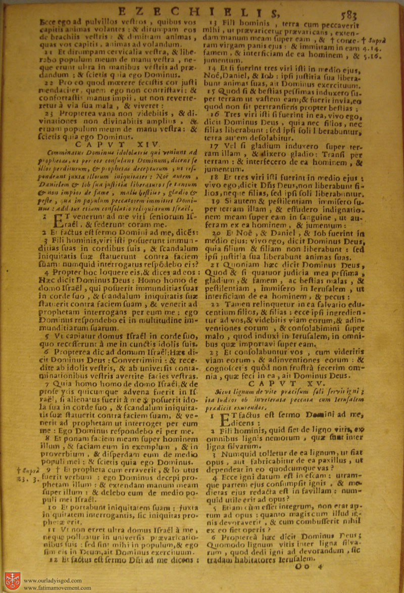 Catholic Latin Vulgate Bible page 0598