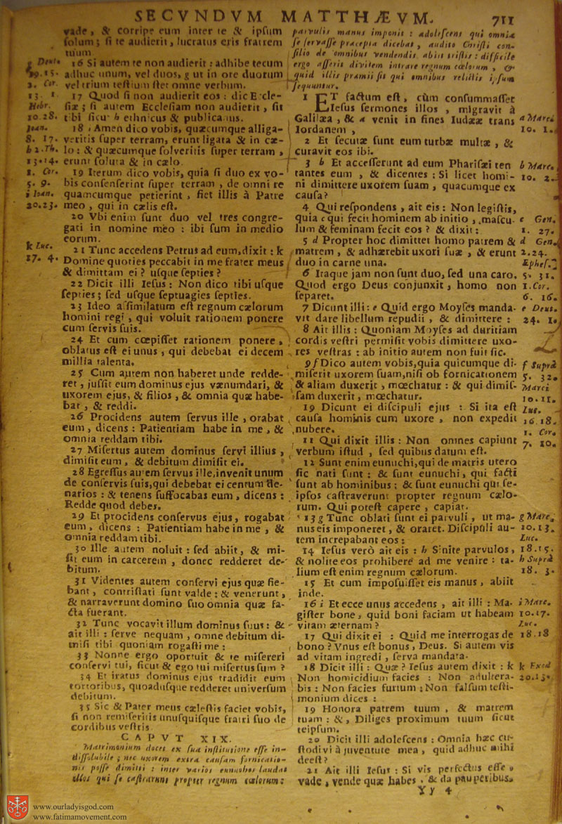 Catholic Latin Vulgate Bible page 0726