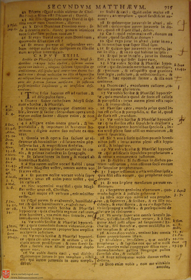 Catholic Latin Vulgate Bible page 0730