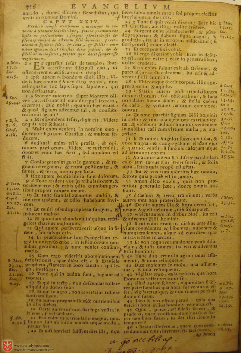 Catholic Latin Vulgate Bible page 0731