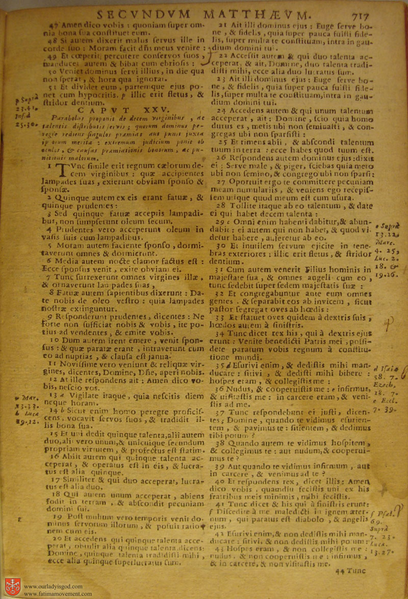Catholic Latin Vulgate Bible page 0732