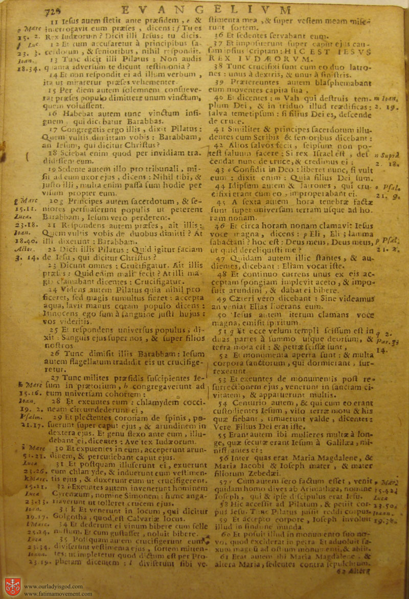 Catholic Latin Vulgate Bible page 0735