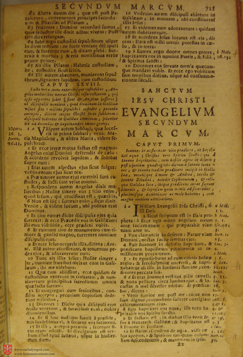 Catholic Latin Vulgate Bible page 0736