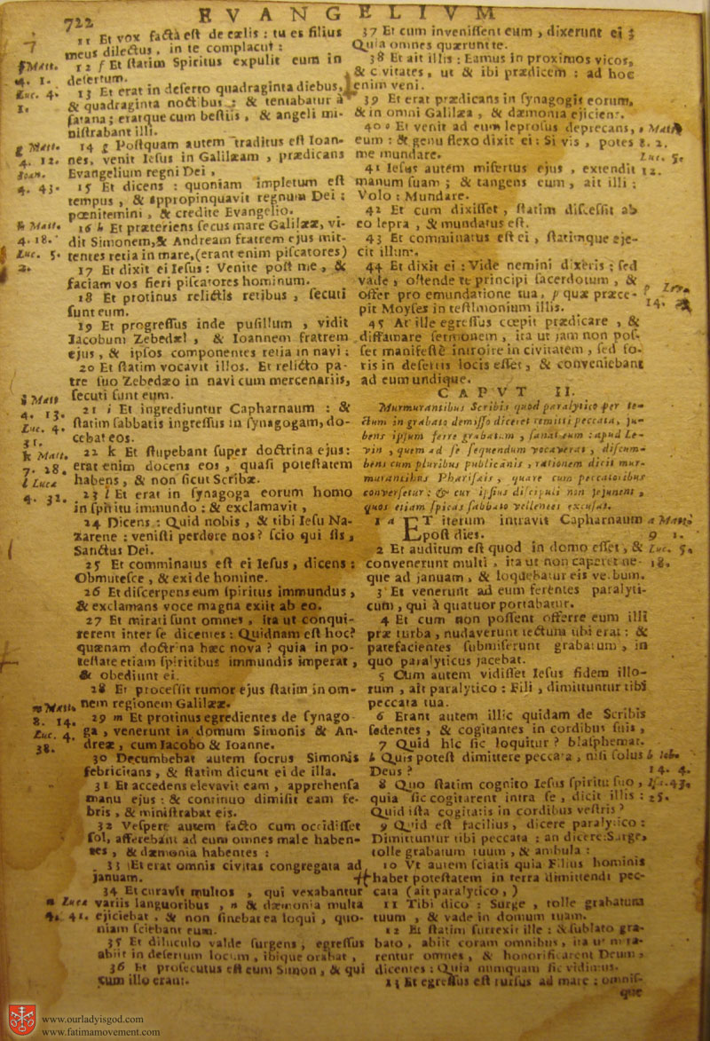 Catholic Latin Vulgate Bible page 0737
