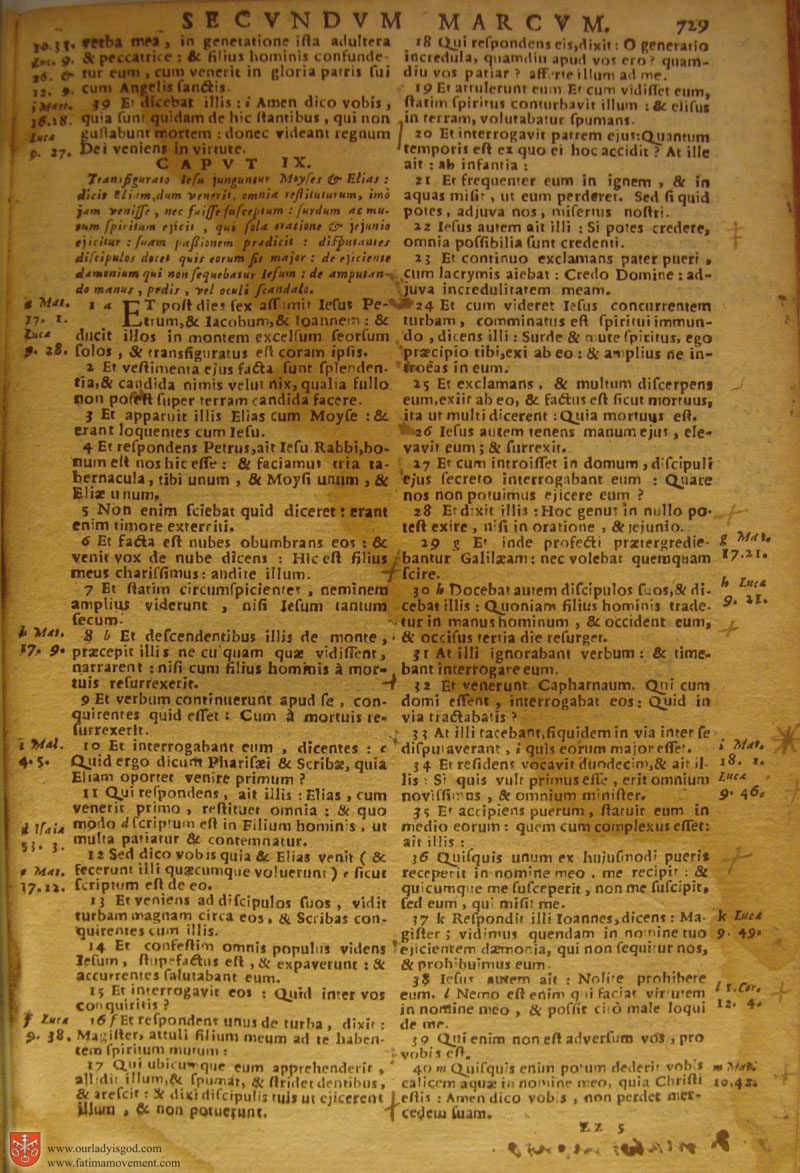 Catholic Latin Vulgate Bible page 0744