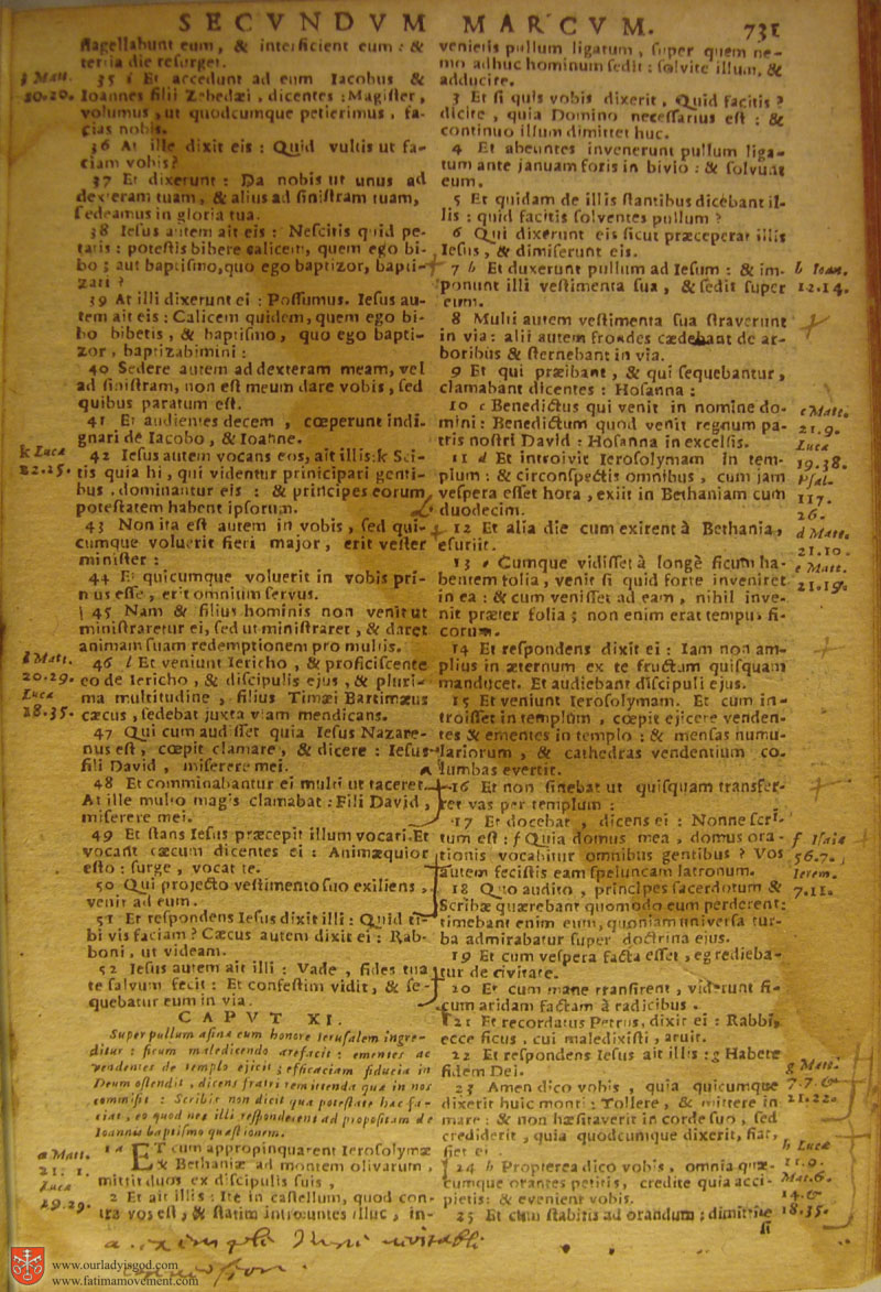Catholic Latin Vulgate Bible page 0746