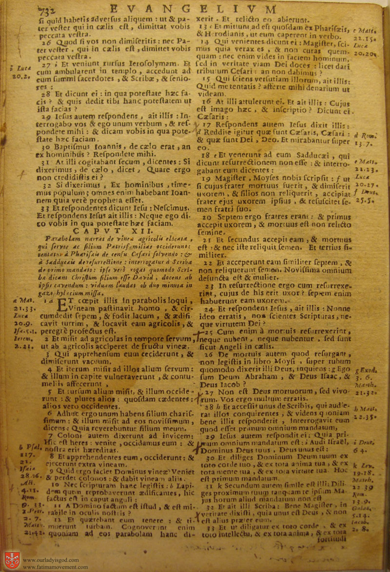 Catholic Latin Vulgate Bible page 0747