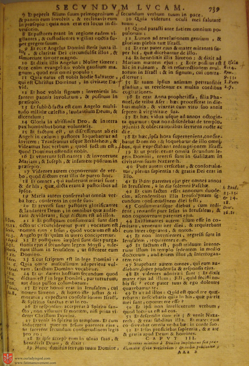 Catholic Latin Vulgate Bible page 0754