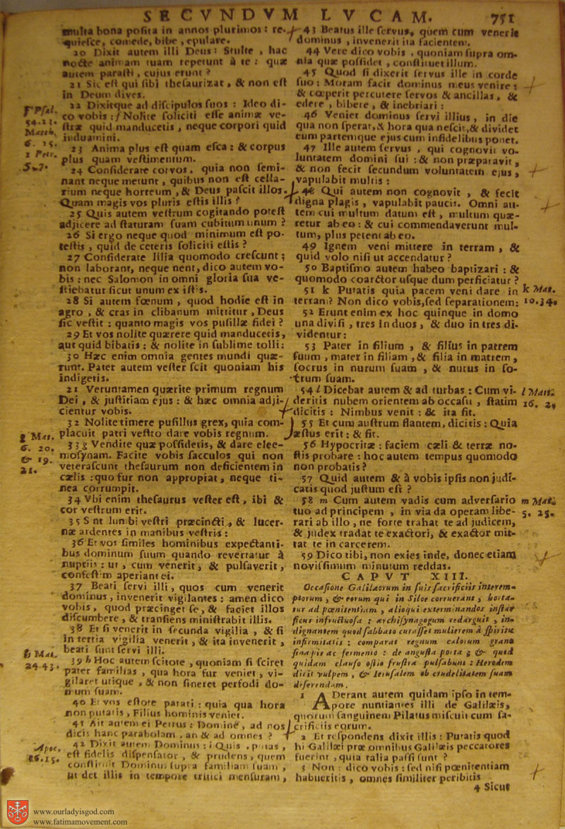Catholic Latin Vulgate Bible page 0766