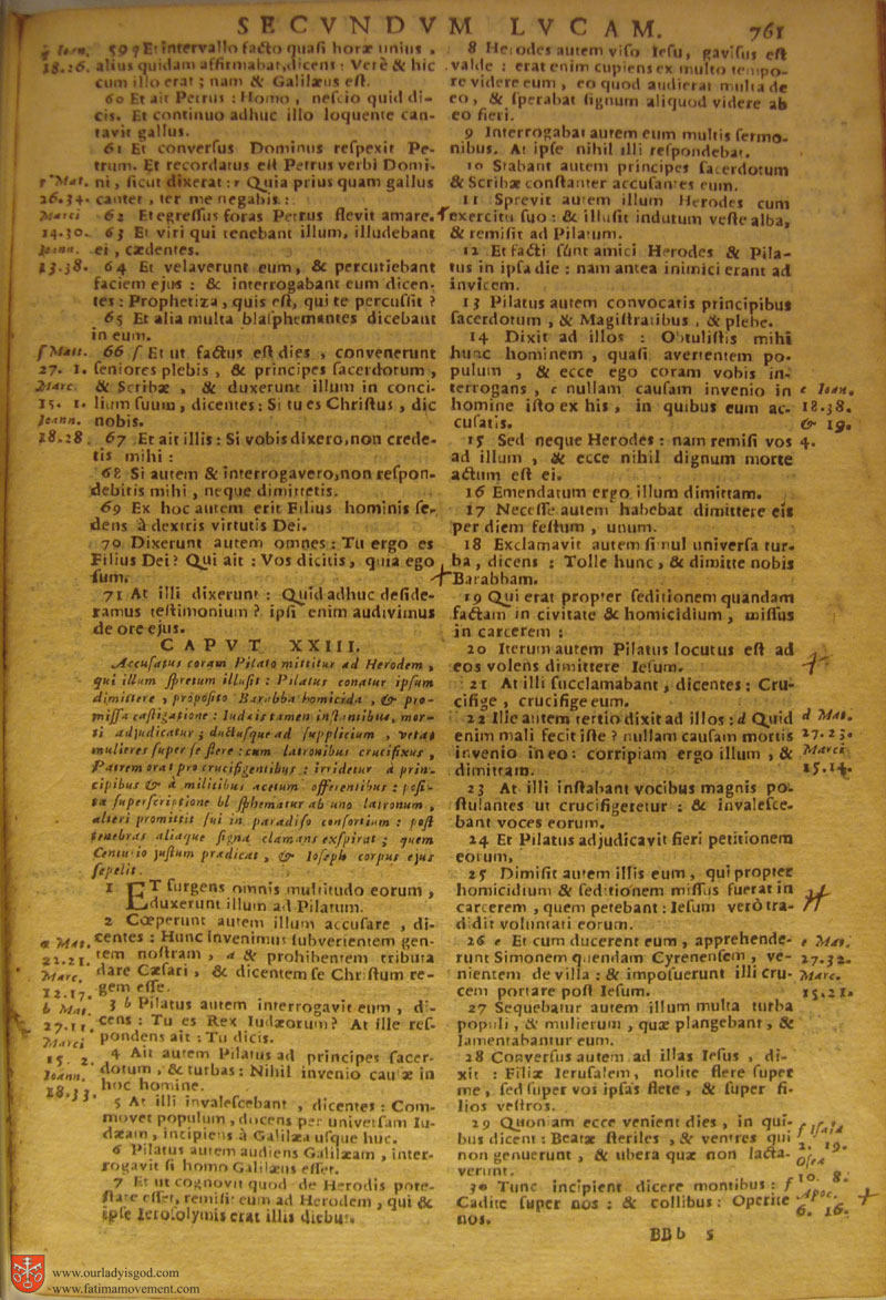 Catholic Latin Vulgate Bible page 0776
