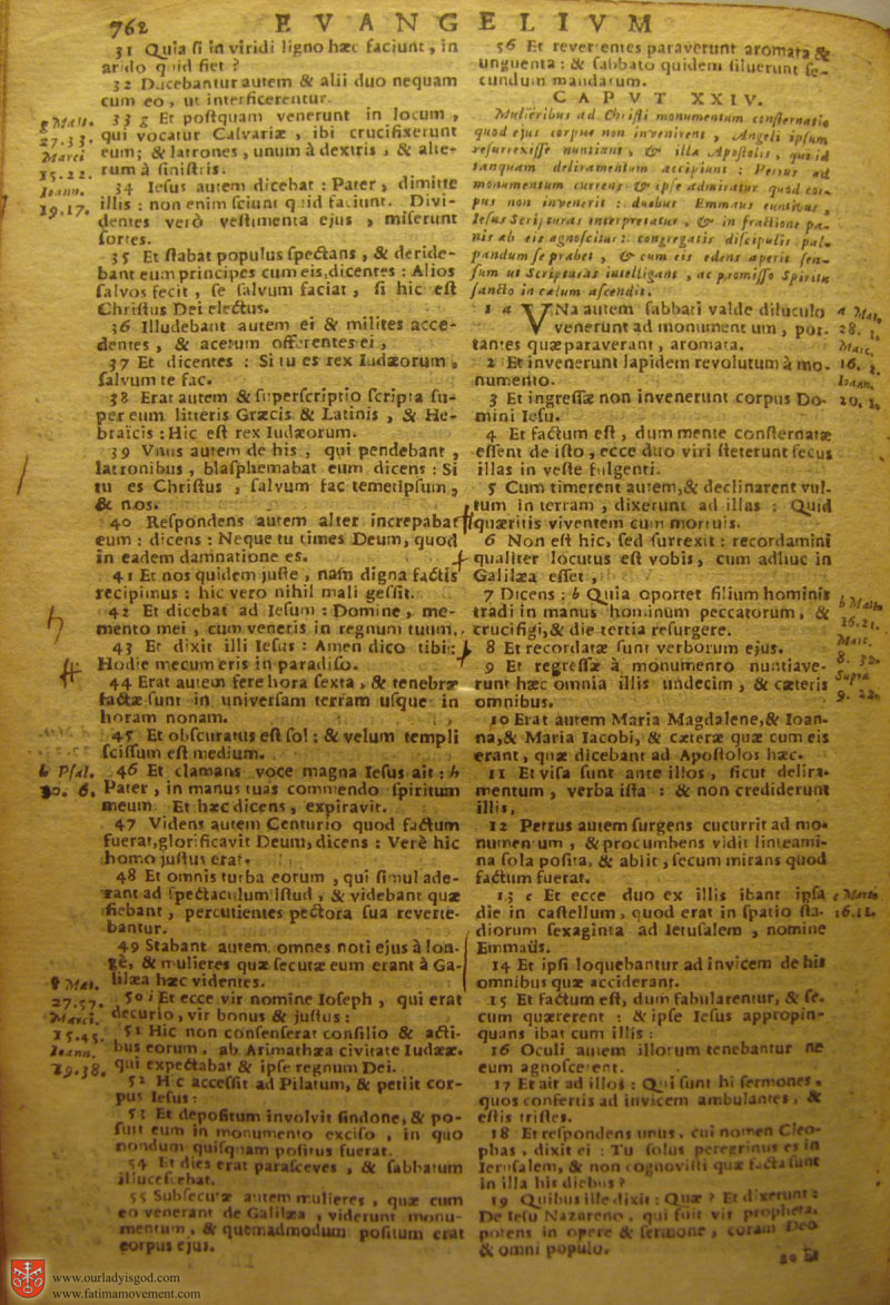 Catholic Latin Vulgate Bible page 0777
