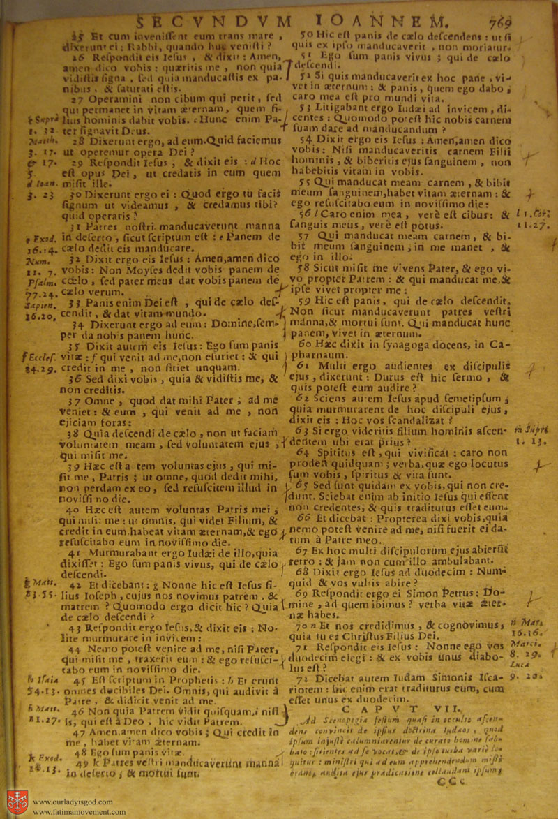 Catholic Latin Vulgate Bible page 0784