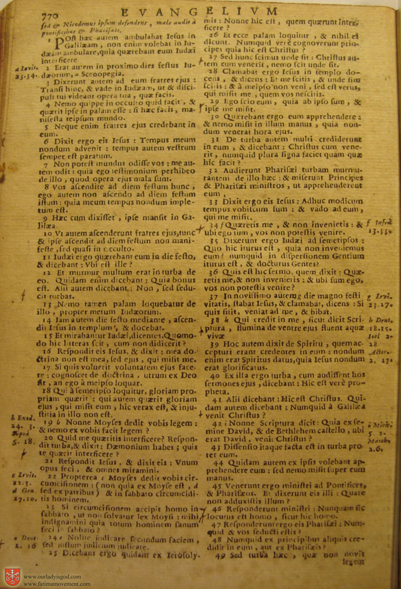 Catholic Latin Vulgate Bible page 0785