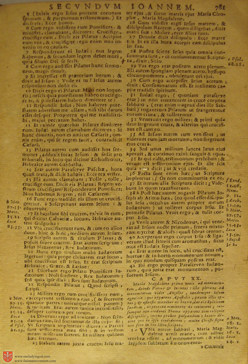 Catholic Latin Vulgate Bible page 0796