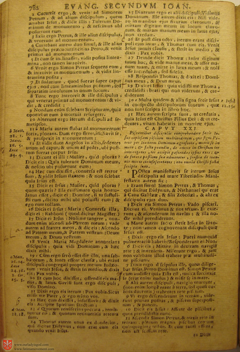 Catholic Latin Vulgate Bible page 0797