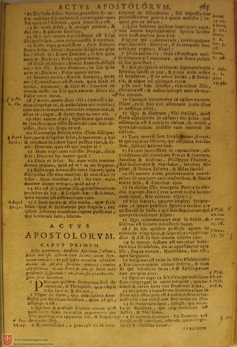 Catholic Latin Vulgate Bible page 0798