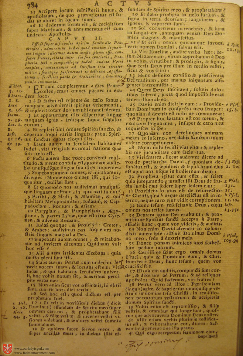 Catholic Latin Vulgate Bible page 0799