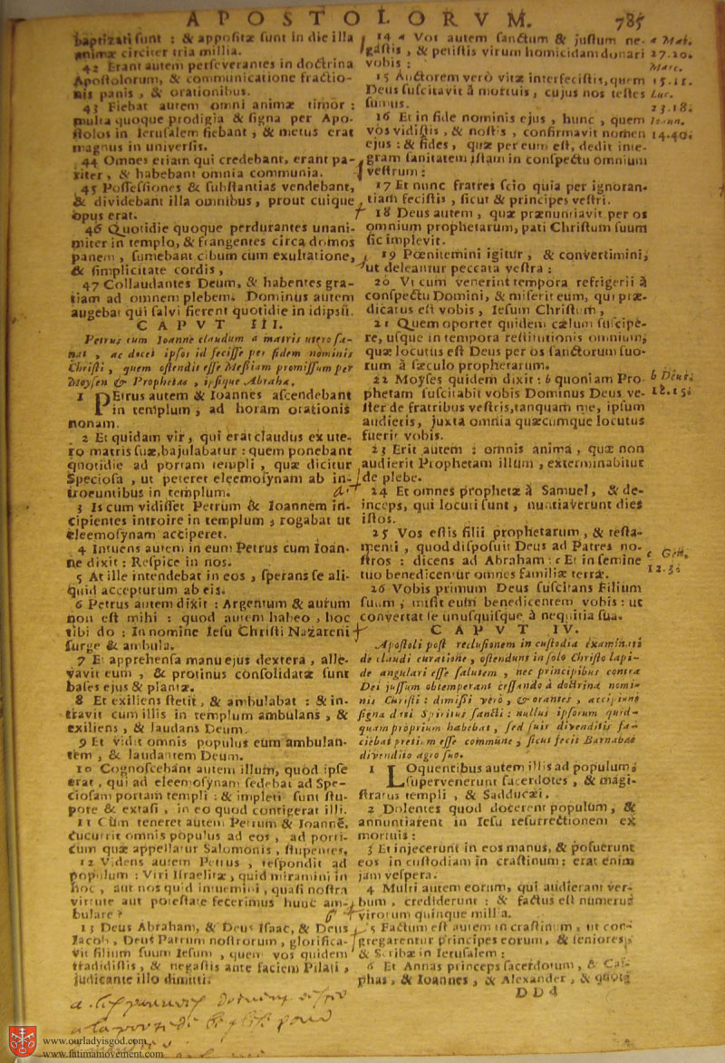 Catholic Latin Vulgate Bible page 0800