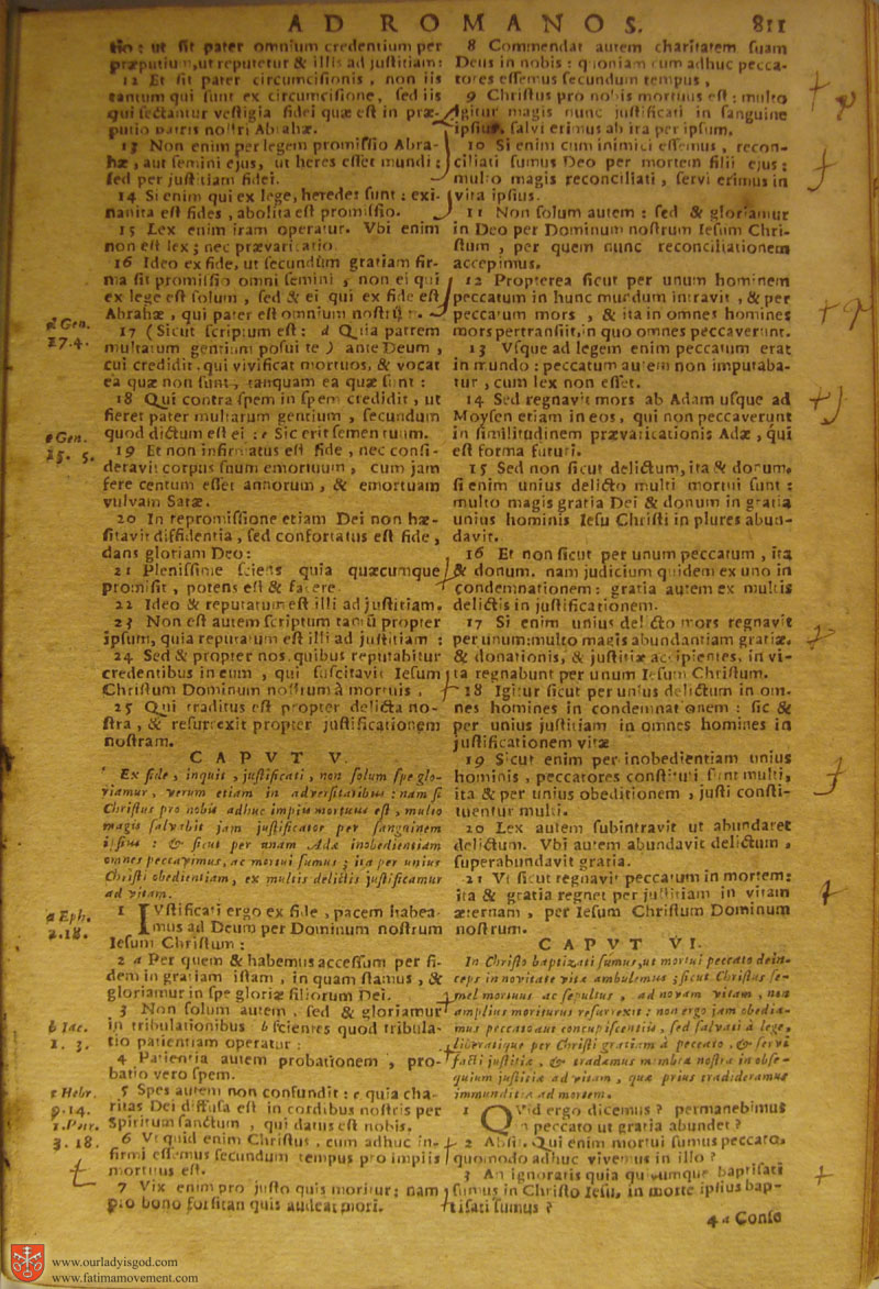 Catholic Latin Vulgate Bible page 0826