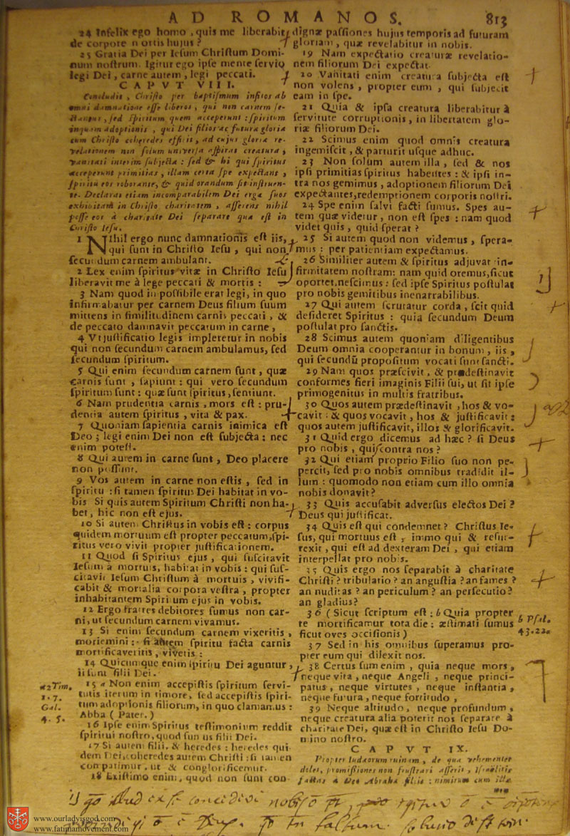 Catholic Latin Vulgate Bible page 0828