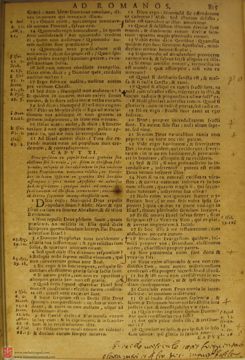 Catholic Latin Vulgate Bible page 0830