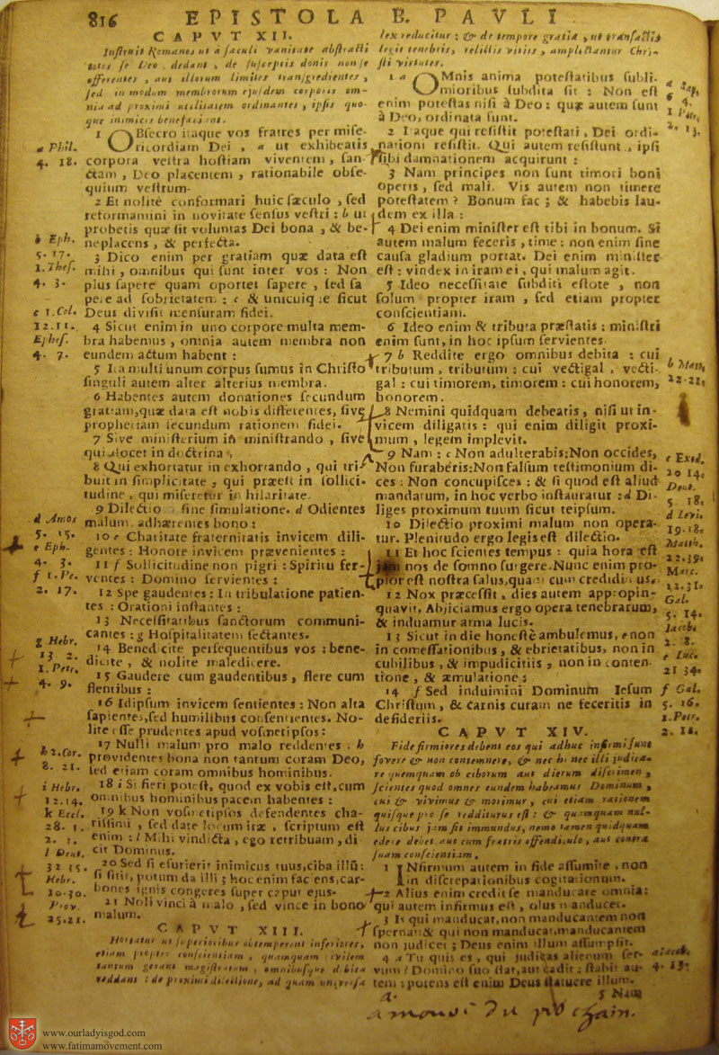 Catholic Latin Vulgate Bible page 0831