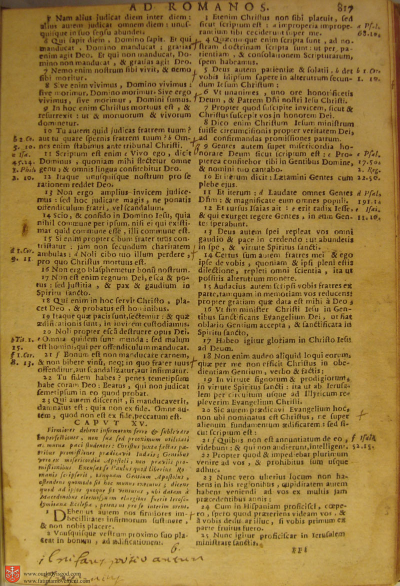 Catholic Latin Vulgate Bible page 0832
