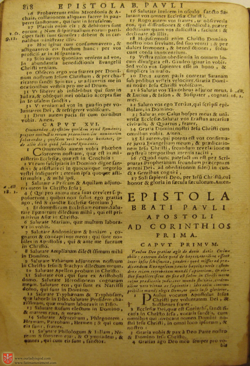 Catholic Latin Vulgate Bible page 0833