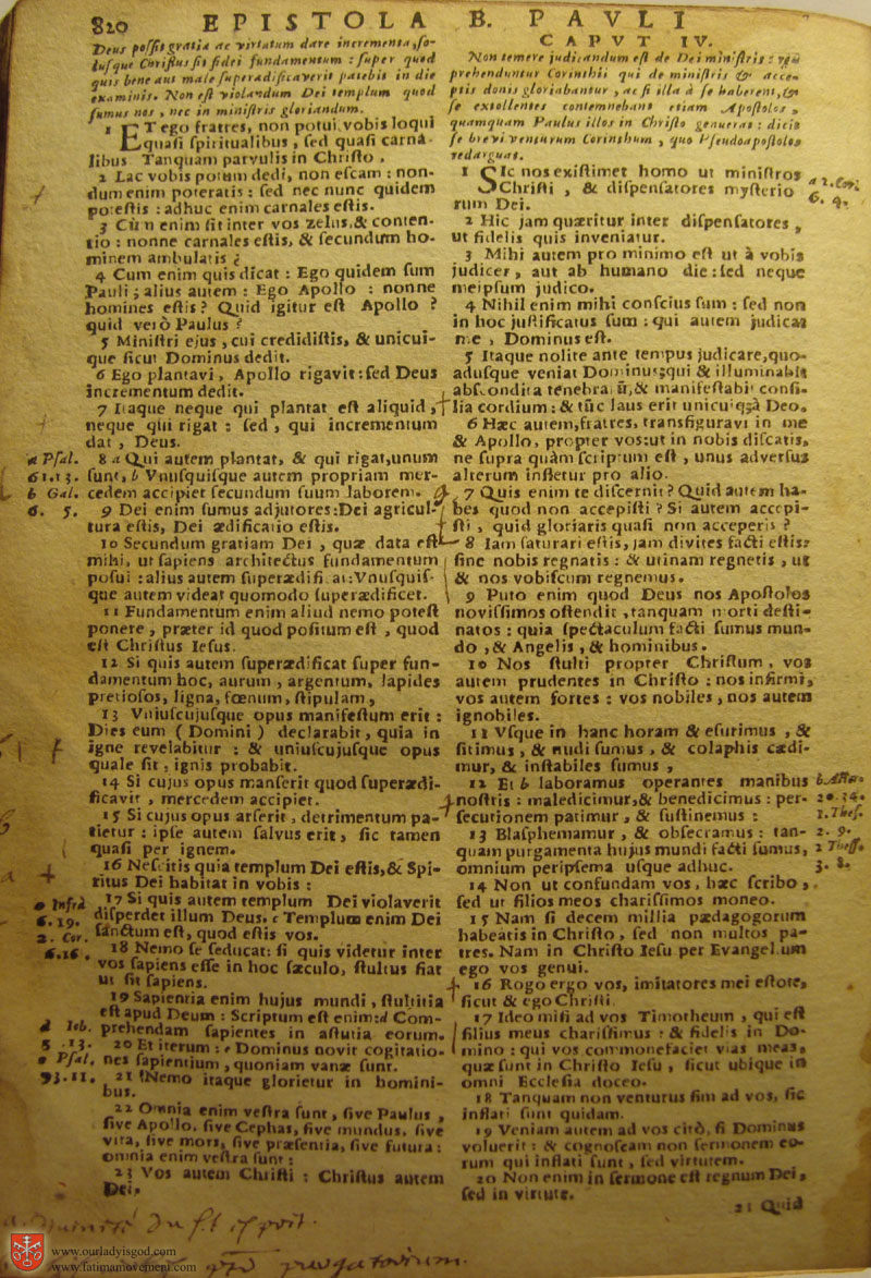 Catholic Latin Vulgate Bible page 0835