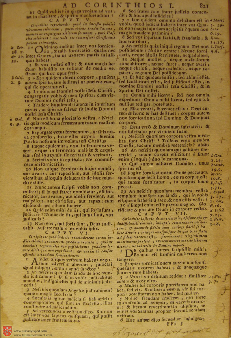 Catholic Latin Vulgate Bible page 0836
