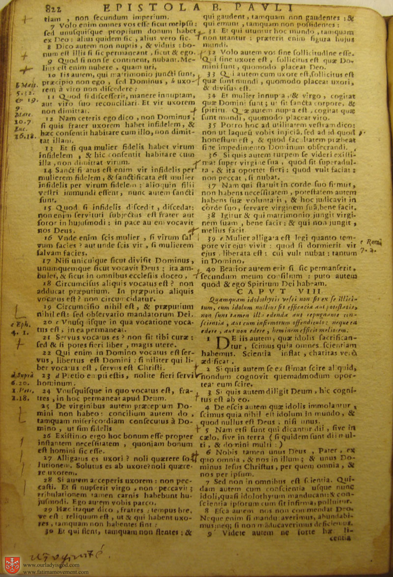 Catholic Latin Vulgate Bible page 0837
