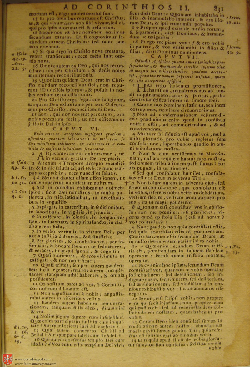 Catholic Latin Vulgate Bible page 0846