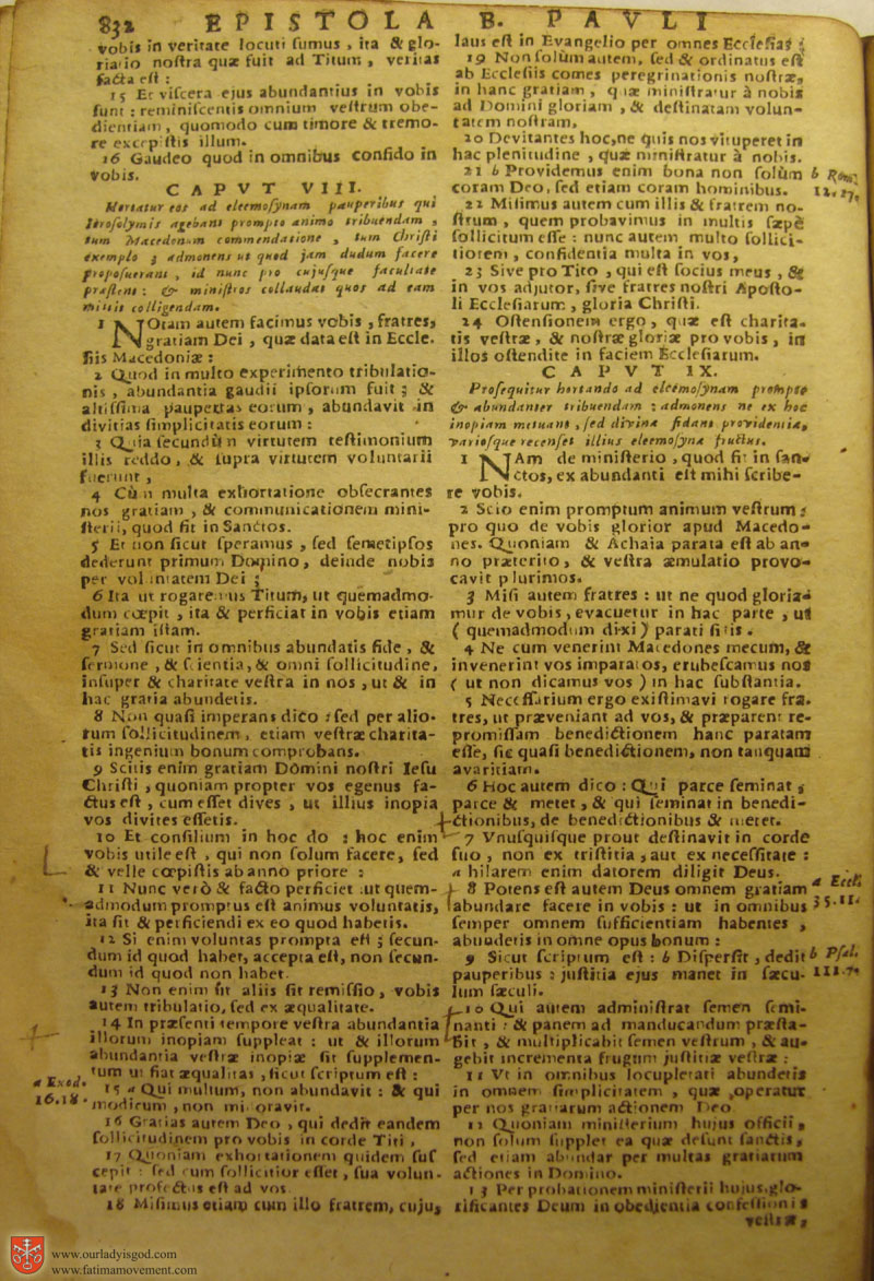 Catholic Latin Vulgate Bible page 0847
