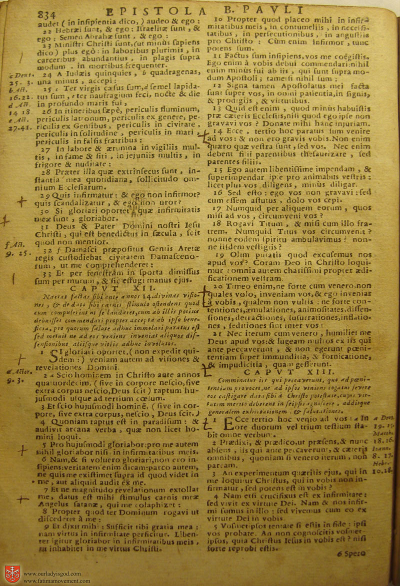 Catholic Latin Vulgate Bible page 0849